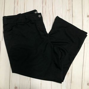 Nike Golf black Capri dri-fit size 14